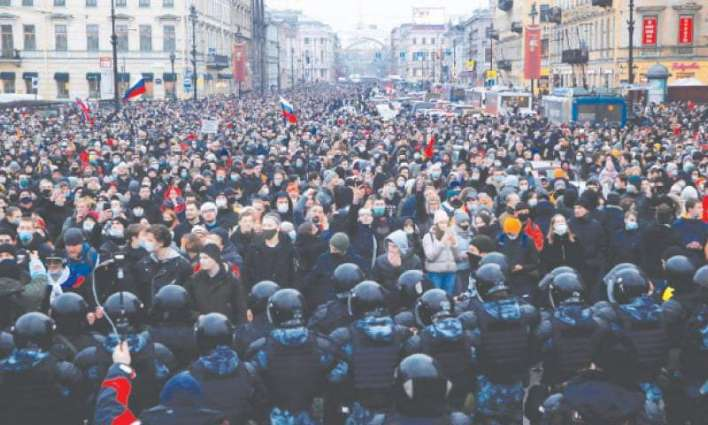 Russian Investigative Committee Says 20 Criminal Cases Launched After Saturday's Rallies