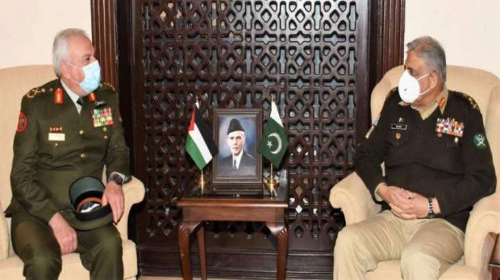 Pakistan Army looks forward to enhance cooperation with Jordan Armed Forces