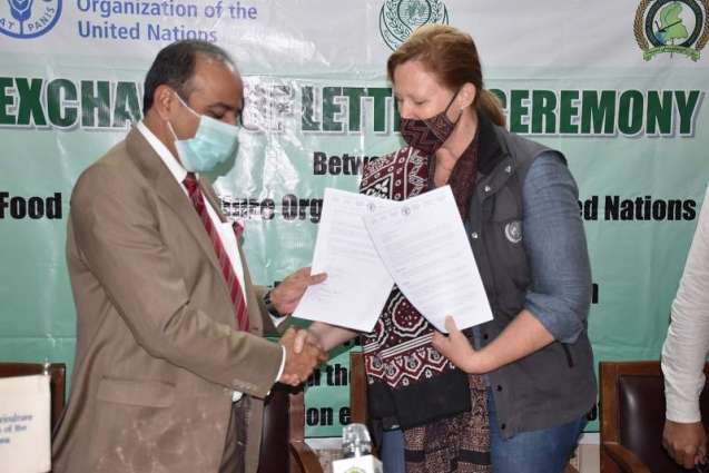 FAO and Sindh Agriculture University join hands to promote the agricultural innovations and SDGs in Pakistan