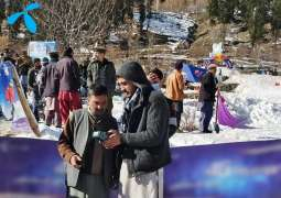 Telenor Pakistan ensures seamless connectivity for the HinduKush Snow Sports Festival 2021