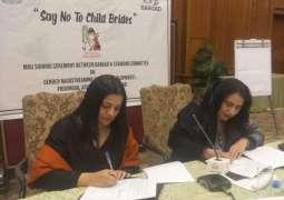 'Say no to Child brides'