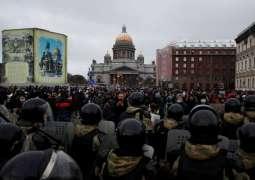 Kremlin Says No One Hindered Journalists' Work at Recent Unauthorized Rallies