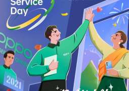This New Year, OPPO Service Day is with you