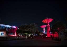 Landmarks across UAE and region turned red for Hope Probe's arrival to Mars