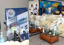 Opening Brief Of Multinational Naval Exercise Aman 2021 Held