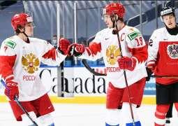 Russian National Ice Hocker Team Defeats Finns in Swedish Hockey Games Match