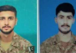 Four soldiers martyred, 4 terrorists in South Waziristan gunbattle