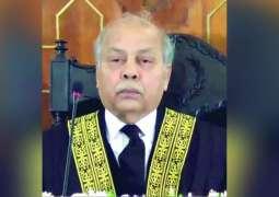 "'Justice Isa should not hear the matters involving PM Imran Khan,"" says CJP Gulzar Ahmed"