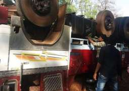 Sixteen Killed, 5 Injured in Truck Rollover Accident in Western India - State Police
