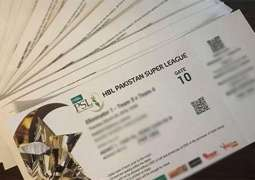 Online sale of PSL tickets will start tomorrow