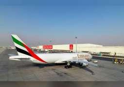 تعاون بين الإمارات للشحن الجوي واليونيسيف لنقل لقاحات كوفيد-19