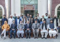 4-Days Training Program on Calf Rearing & Feedlot fattening Techniques for KPK livestock farmers concludes