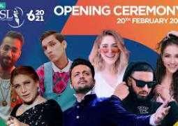 PSL 6 stars with glittering ceremony at Karachi National Stadium