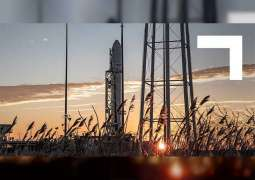 'DhabiSat' lifts off to International Space Station