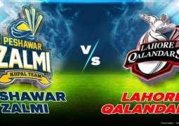 PSL 6 Match 02 Lahore Qalandars Vs. Peshawar Zalmi 21 February 2021: How to Watch LIVE on TV