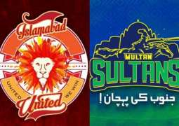 PSL 6 Match 03 Islamabad United Vs. Multan Sultans 21 February 2021: Watch LIVE on TV