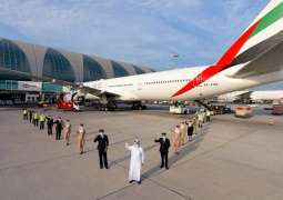 Safety above all, always: Emirates operates first flight serviced by fully vaccinated frontline teams across all customer touchpoints