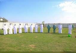 بلدية مدينة دبا الحصن تشارك في أسبوع التشجير الوطني الـ41