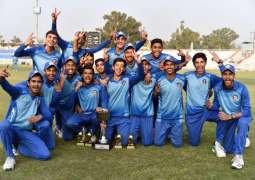 Ubaid Shahid, Ibtisam Rehman help Central Punjab retain U16 One-Day title
