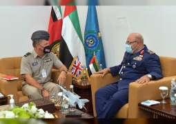 قائد القوات الجوية يلتقي عددا من كبار القادة وضيوف آيدكس