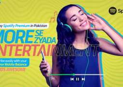 Telenor Pakistan partners with Spotify