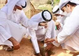 وزير التغير المناخي والبيئة يشارك في فعاليات أسبوع التشجير بمدينة العين