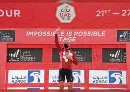 """بوجاتشار يحتفظ بالقميصين الأحمر والأبيض ويستعيد الأخضر في مرحلة """"لا شيء مستحيل"""" لطواف الإمارات"""