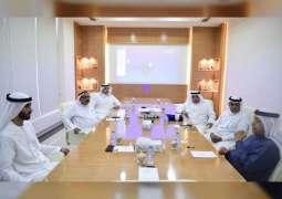 ماجد بن سعود يستقبل عضو أمناء هيئة آل مكتوم الخيرية