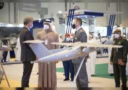 Mohamed bin Zayed visits IDEX 2021
