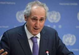 UN Greatly Concerned by Situation in Armenia, Urges Parties to Restrain - Spokesman