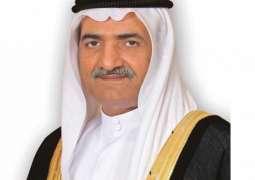 حاكم الفجيرة يهنئ خادم الحرمين الشريفين بنجاح العملية الجراحية التي أجراها ولي العهد السعودي