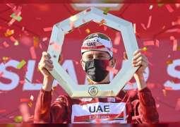 """تادي بوجاتشار بطلا للنسخة الثالثة من طواف الإمارات و الأسترالي كاليب يحصد لقب """" جزيرة ياس """""""