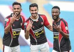 الرائد يتغلب على العين في الجولة 21 من دوري كأس الأمير محمد بن سلمان للمحترفين