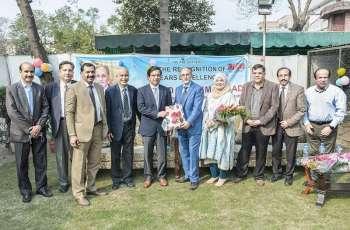 UVAS holds farewell ceremony on retirement of Dr Syed Saleem Ahmad
