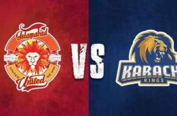 PSL 6 Match 06 Karachi Kings Vs. Islamabad United 24 February 2021: Watch LIVE on TV