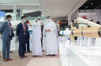 Al Bowardi continues tours of IDEX 2021