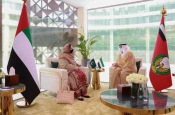 """البواردي يبحث التعاون العسكري مع عدد من ضيوف """"آيدكس 2021"""""""