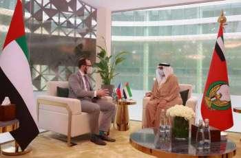 UAE, Czech Republic discuss military cooperation at IDEX