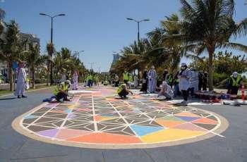 سمو وكيل محافظة جدة يشارك في مبادرة