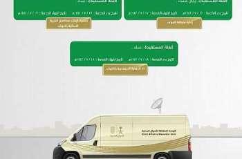 وحدات الأحوال المدنية المتنقلة تقدم خدماتها في عددٍ من مناطق المملكة
