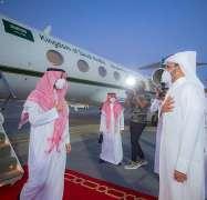 الأمير عبدالعزيز الفيصل يصل الدوحة لحضور نهائي بطولة كأس العالم للأندية