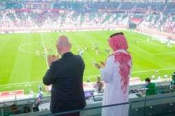 سمو الأمير عبدالعزيز الفيصل يزور اللجنة الأولمبية القطرية وإستاد