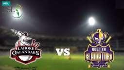PSL 6 Match 04 Lahore Qalandars Vs. Quetta Gladiators 22 February 2021: Watch LIVE on TV