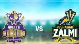 PSL 6 Match 08 Peshawar Zalmi Vs. Quetta Gladiators 26 February 2021: Watch LIVE on TV