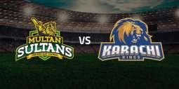 PSL 6 Match 09 Karachi Kings Vs. Multan Sultans 27 February 2021: Watch LIVE on TV