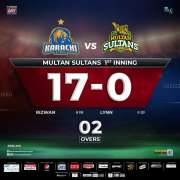 Karachi Kings win the toss, decided to bowl first against Multan Sultan