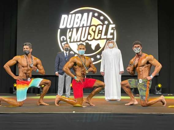 Competitors from 43 nationalities take part in Dubai Muscle Classic