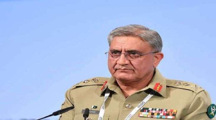 رئیس أرکان الجیش الباکستاني یستقبل قائد القیادة المرکزیة للجیش الأمریکي الجنرال کینیث ماکنزي