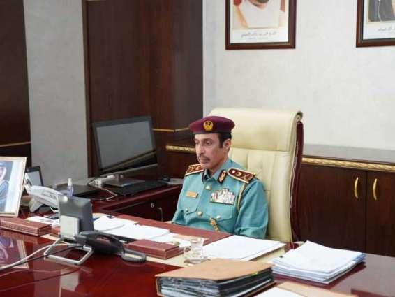 قائد شرطة عجمان يشيد بالنتائج الإيجابية للمؤشرات الاستراتيجية لعام 2020