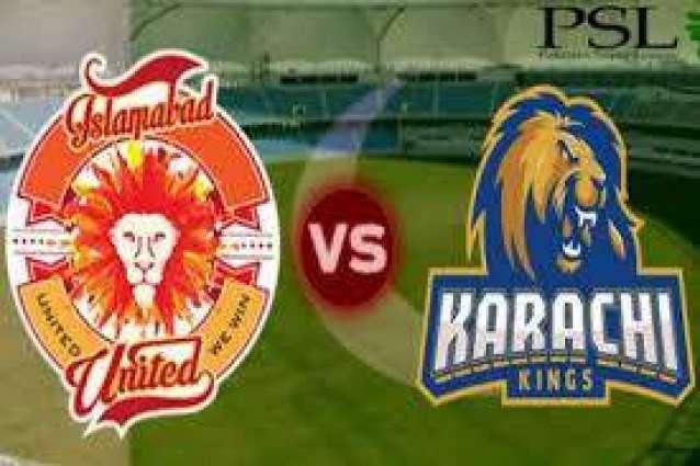 Karachi Kings, Islamabad are all set for tonight battle at National Stadium